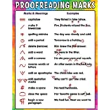 Teacher Created Resources Proofreading Marks Chart, Multi Color (7696)