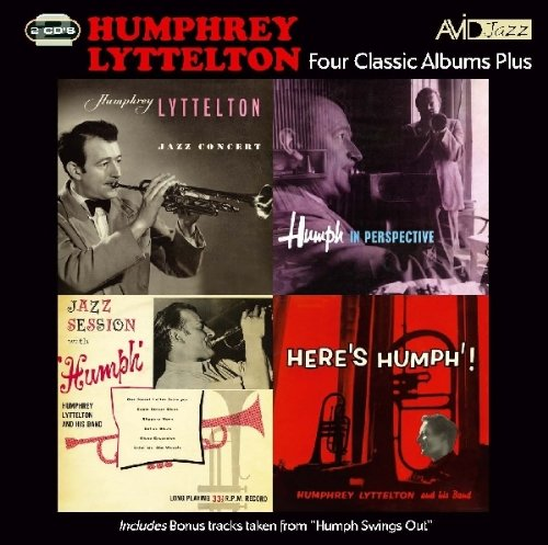 Four Classic Albums - Humphrey Lyttelton -Jazz Concert / Jazz Session / In Perspective