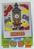 Topps No.144 Mini Ben Rainbow Foil Card Moshi Monsters Mash Up Trading Card