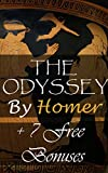 Image of The Odyssey: + 7 Free Bonus works: The Iliad Of Homer, Paradise Lost, The Golden Ass, Oedipus The King, Oedipus At Colonus, Antigone, The Aeneid