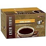 Caza Trail Coffee, Kona Blend, (Kona Blend, 200 count)