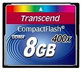 Transcend 400倍速CFカード 8GB 永久保証 TS8GCF400