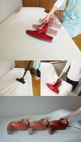 【ベッド用品】【布団掃除機】・お布団用掃除機 [LSJ-601]