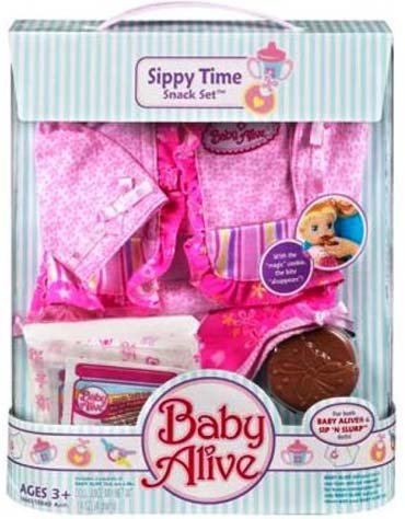 Care Of Baby Baby Alive Sippy Time Snack Set