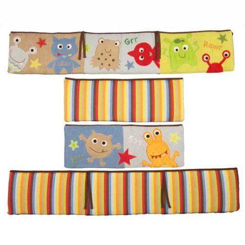 Baby Monster Bedding 9353 front