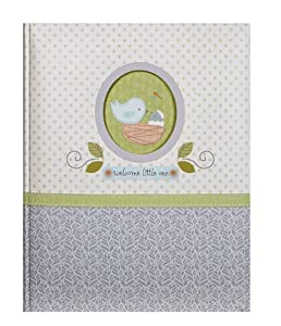 C.R. Gibson Nest Bound Baby Memory Book