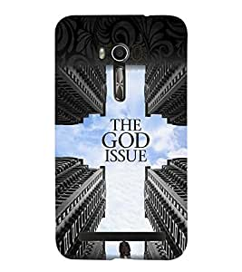 printtech God Issue Back Case Cover for Asus Zenfone Go::Asus Zenfone Go ZC500TG