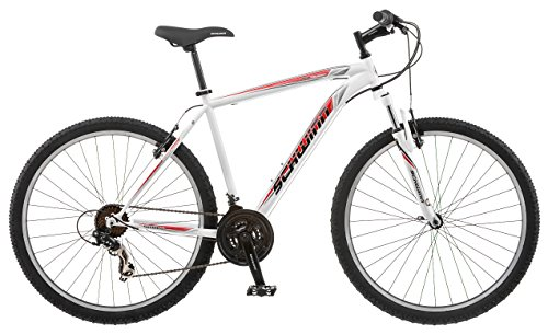 Schwinn High Timber Men's Mountain Bike, White
