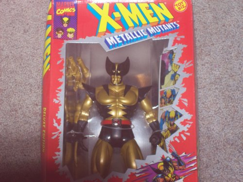 Buy Low Price Toy Biz Wolverine Metallic Action Figure – 1994 – X-Men Metallic Mutants Series – 10 Inch Tall – Fully Posebale – Weapon Included – Toy Biz – Marvel – Limited Edition – Mint – Collectible (B000NPMKZ0)
