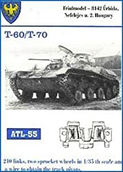 Friulmodel Atl55 1/35 Metal Track W/Drive Sprockets For T 60 & T 70.