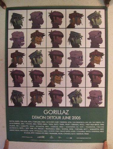 gorillaz-poster-demon-detour-2005-the-characters