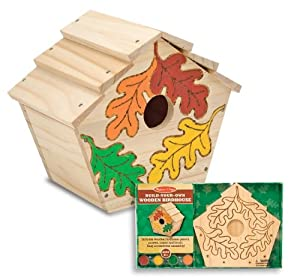 Melissa & Doug Build-Your-Own Wooden Birdhouse