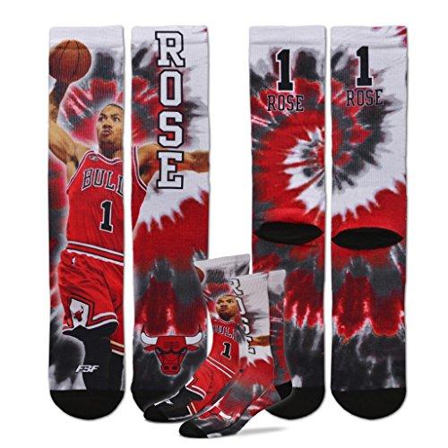 Chicago Bulls Derrick Rose Tye Dye Socks