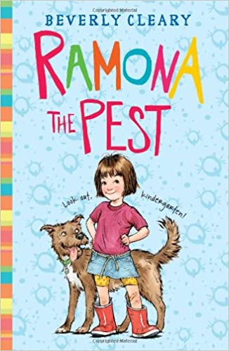 favorite children's chapter books -- Ramona the Pest by Beverly Cleary