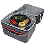 Freshware-15-Pack-9-Inch-Round-3-Compartment-Bento-Lunch-Boxes-with-Lids-Use-for-Meal-Prep-Portion-Control-21-Day-Fix-and-Food-Storage-Containers-32oz