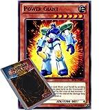 YuGiOh : BP02-EN091 1st Ed Power Giant Common Card - ( War of the Giants Battle Pack Yu-Gi-Oh! Single Card )