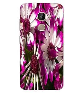 ColourCraft Beautiful Flowers Design Back Case Cover for LeEco Le 2