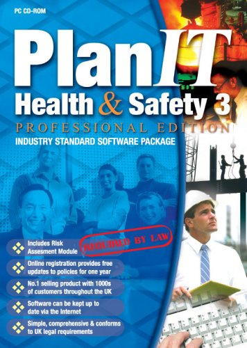 PlanIT Health & Safety 3 - Professional Edition - up to 10 personnel