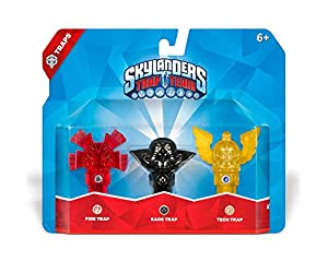 Skylanders Trap Team: Triple Trap Pack: Fire, Kaos, Tech