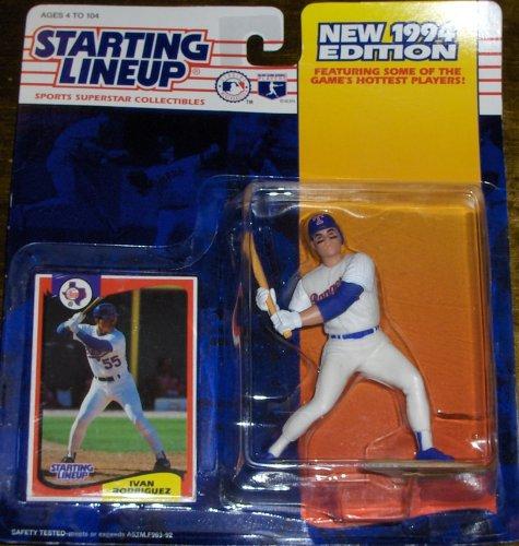 1994 Ivan Rodriguez MLB Starting Lineup