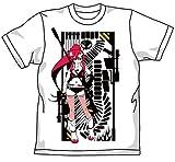 天元突破グレンラガン ヨーコのライフルTシャツ ホワイト サイズ:L