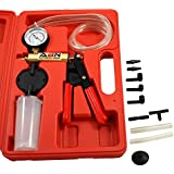 ABN Vacuum Pump/Brake Bleed Kit for Automotive or Food Canning, Sealing in Blow Molded Case