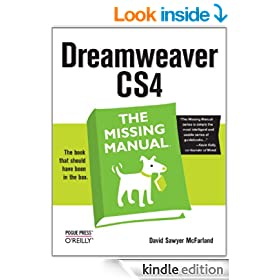 Dreamweaver CS4: The Missing Manual: The Missing Manual (Missing Manuals)