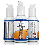 Liquid Glucosamine For Dogs - Joint Health & Support - Contains Glucosamine, Chondroitin and MSM - Dog Health, Pain Relief & Joint Supplement - Lifetime Happy Dog Guarantee!
