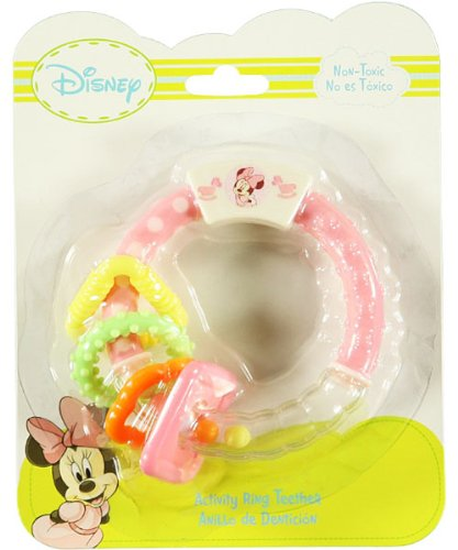 Disney Mickey Mouse Activity Ring Teether - 1