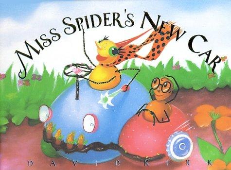 Miss Spider's New Car Board Book (Miss Spider (Board Books))