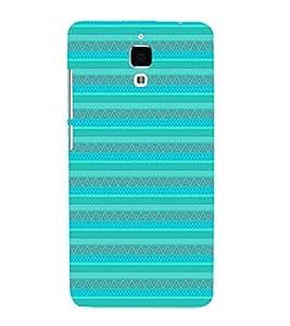 EPICCASE ethnic lines Mobile Back Case Cover For Xiaomi Mi4 (Designer Case)