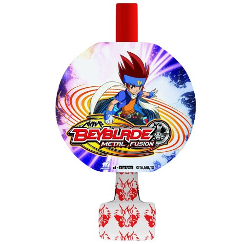 Beyblade Blowouts / Favors (8ct) (Beyblade Birthday Supplies compare prices)