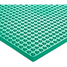 Ergomat EPDM Rubber Chemical Resistant, for Laboratories, Green
