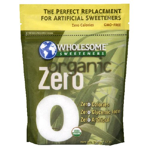 Wholesome Sweeteners Organic Zero, 12-Ounce Bag (Pack of 2)