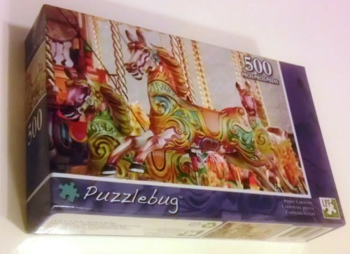 Merry Carousel - Puzzlebug Jigsaw Puzzle [500 Pieces]
