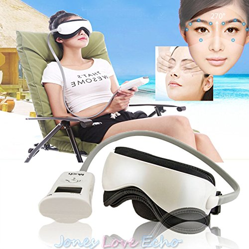 Electric Eye Massager Health Care Alleviate Fatigue Head Stress Tension Relief