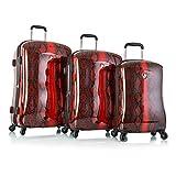 Heys Exotic Python Fashion Spinner 3-piece Luggage Set