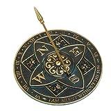 Rome RM2304 Brass Rosette Sundial