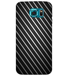 SAMSUNG GALAXY S6 STRIPES Back Cover by PRINTSWAG