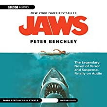 Jaws Audiobook by Peter Benchley Narrated by Erik Steele