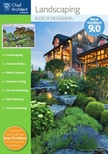 Chief Architect Landscaping & Deck Designer 9.0