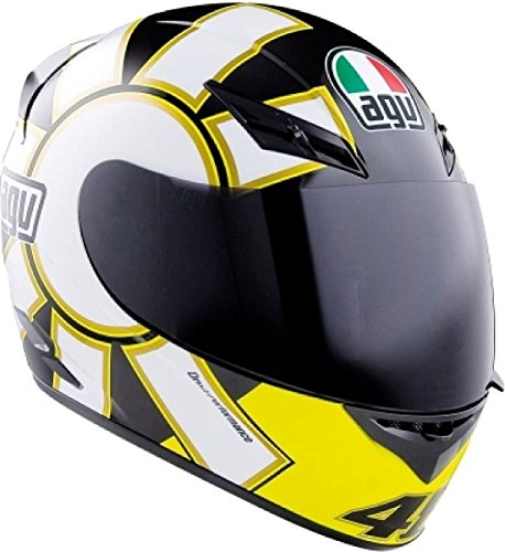 AGV Casco integrale K-3 Gothic 46 XL Nero