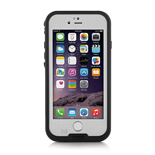 FoxwillTM iPhone 6 4.7 inch Waterproof Case [New Version] 6.6ft Underwater Waterproof Shockproof Snowproof Dirtpoof Protection Case (White) (Items Sold By Amazon compare prices)