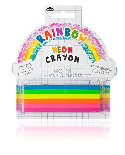 Neon Rainbow Crayon Set by NPW
