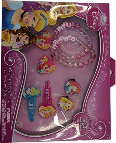 Princess Best Friends Jewelry and Hair Set - 1