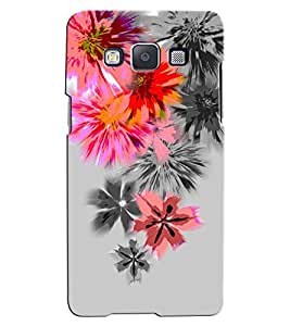 Citydreamz Floral Print Hard Polycarbonate Designer Back Case Cover For Samsung Galaxy A7