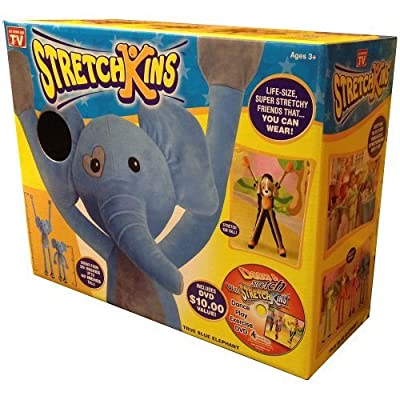 Stretchkins Elephant Life-size Plush Toy That You Can Play, Dance, Exercise and Have Fun With from Strecthkins