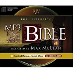 The Listener's KJV MP3 Audio Bible