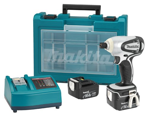 makita btd130fw 14 4 volt lithium ion cordless impact. Black Bedroom Furniture Sets. Home Design Ideas
