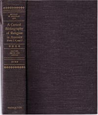 Critical Bibliography of Religion in America download ebook